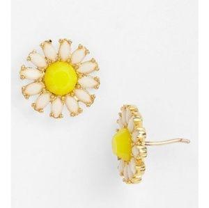 Kate Spade Estate Garden Daisy Stud Mini Earrings